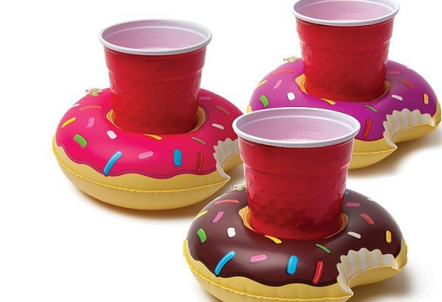 dmuchany donut na drinka