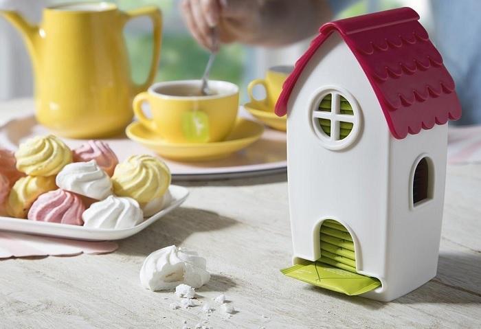 Domek na torebki herbaty by Ototo Design