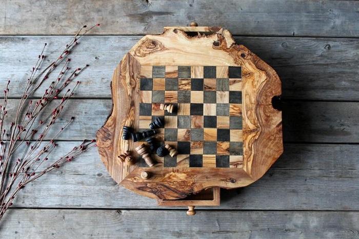 drewniane szachy 2