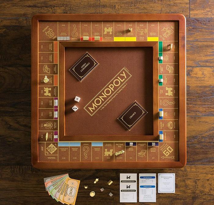 drewniany zestaw do monopoly 2