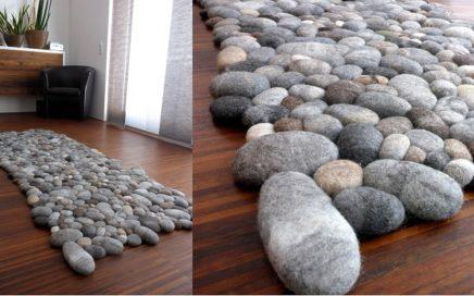 dywanik z kamieni