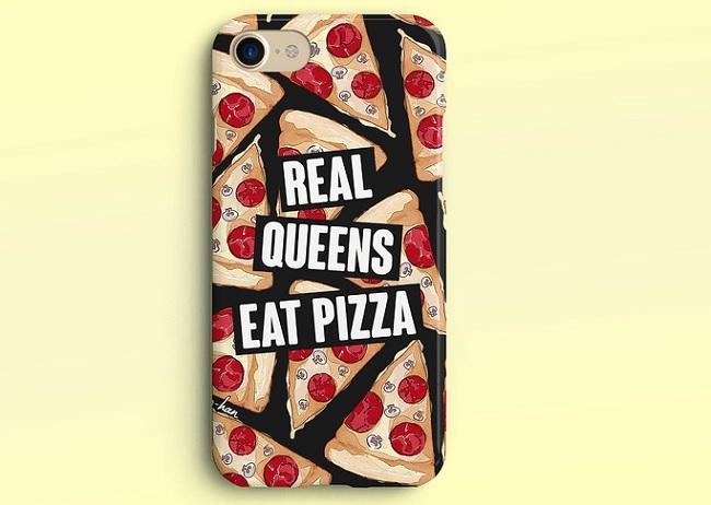 etui na telefon pizza
