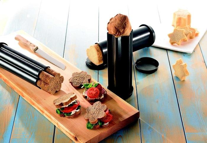 Fantazyjne formy do pieczenia chleba marki Birkmann