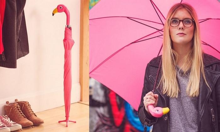 flamingo parasol