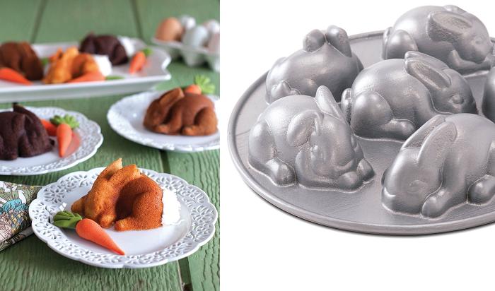 Forma do ciasta mini zające Nordic Ware