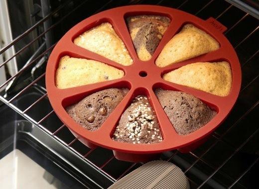Forma na kawałki ciasta od Lekue