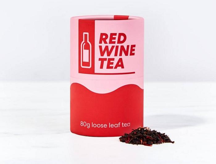 herbata o smaku wina