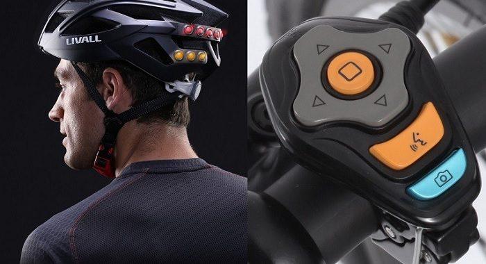 interaktywny kask rowerowy