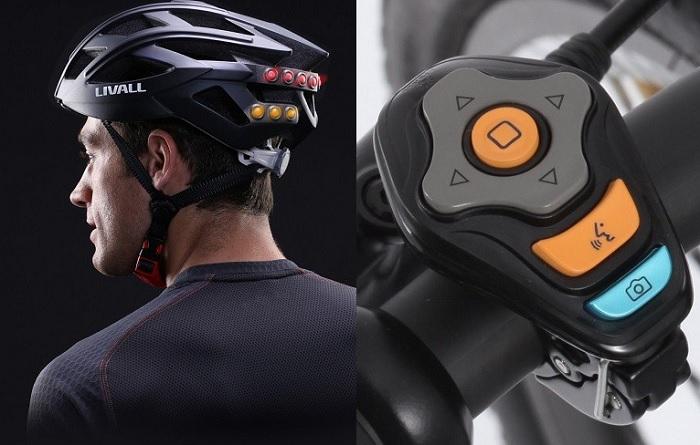 Interaktywny kask rowerowy z kierunkowskazem Livall BH60 Bluetooth