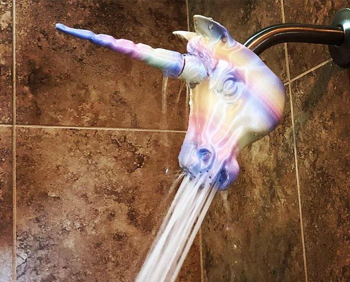 jednorozec prysznic