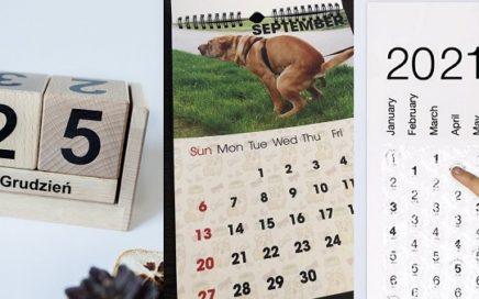 kalendarze na nowy rok