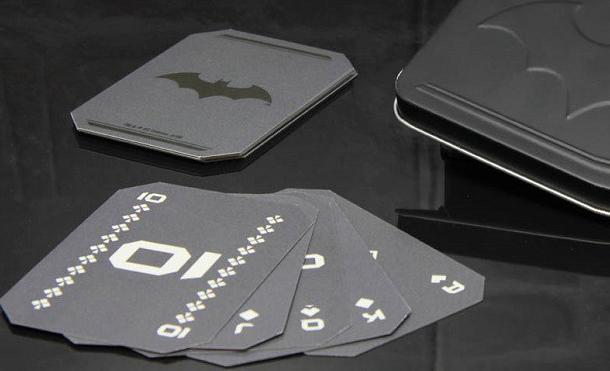 Karty z motywem Batmana marki Paladone