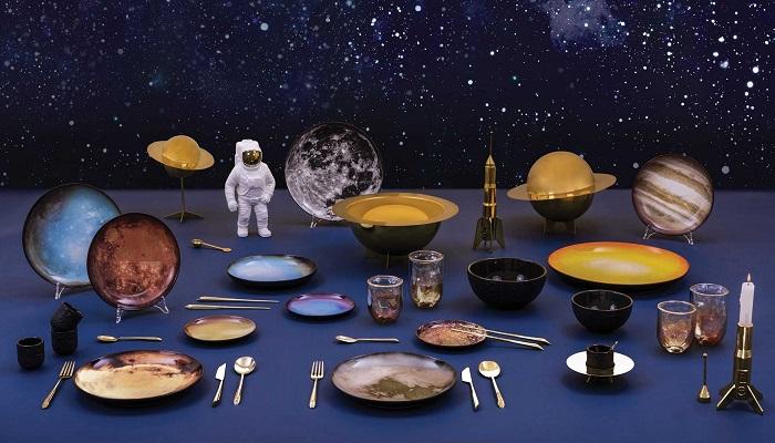 Kosmiczne talerze planety Cosmic marki Seletti