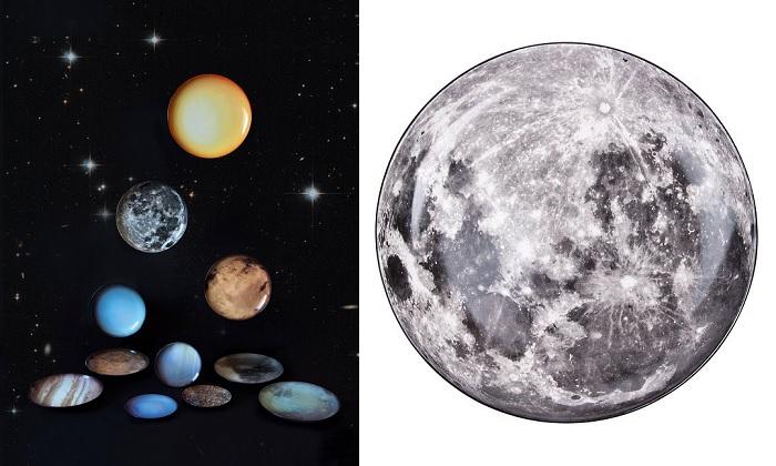 kolekcja talerze planety