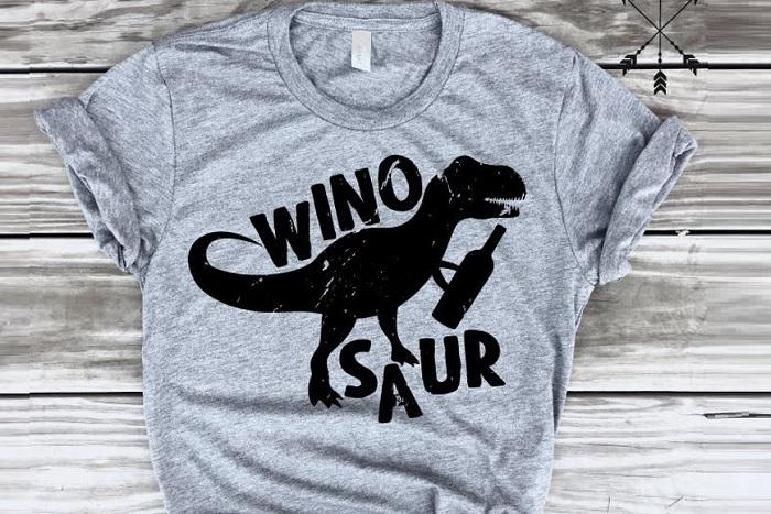 koszulka winosaur