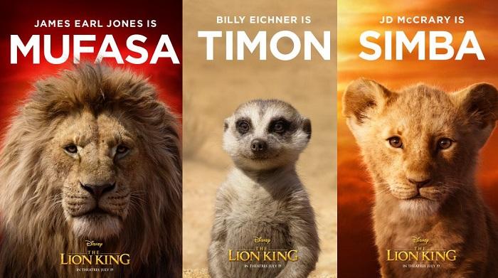 Disney wypuścił plakaty z głównymi bohaterami najnowszej wersji Króla Lwa
