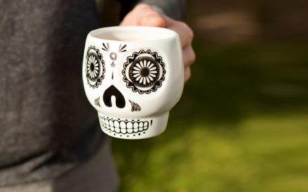 kubek czaszka meksykańska