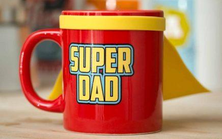 kubek z peleryną dla super taty