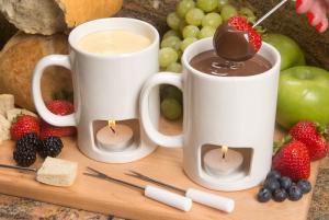 Zestaw kubków do fondue