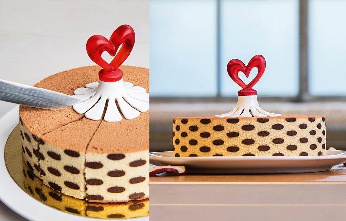 Kwiatek do porcjowania ciasta z sercem Susi marki Koziol