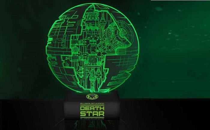 Lampa Star Wars Gwiazda Śmierci