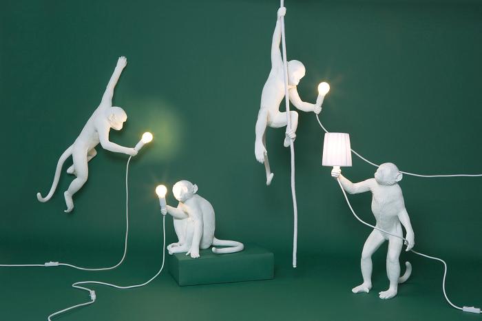 lampa małpa seletti