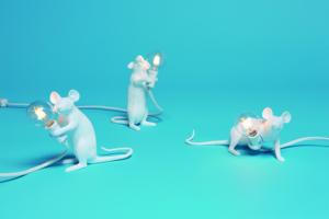 Lampa mysz by Seletti