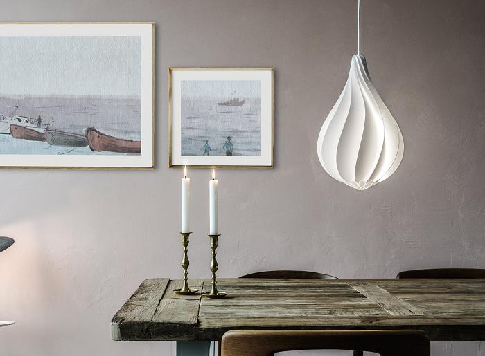 Lampa Alva w kształcie kropli by Vita Copenhagen