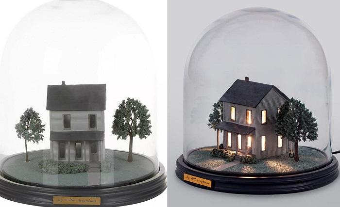 lampka dom pod kopula