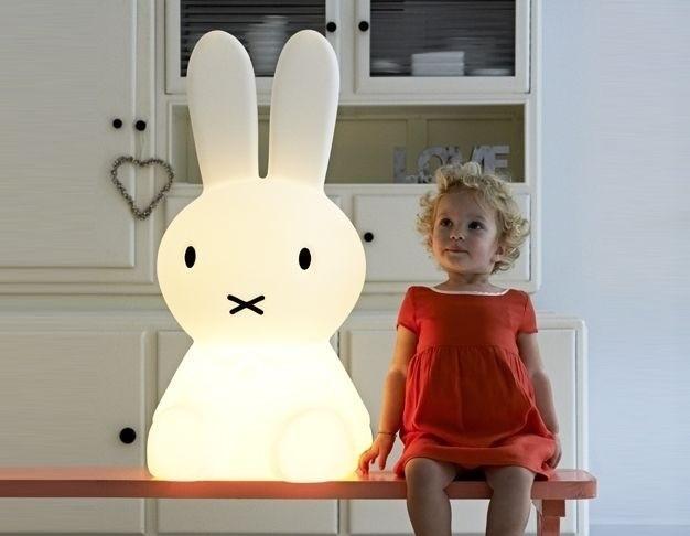 Lampa królik Miffy firmy MrMaria