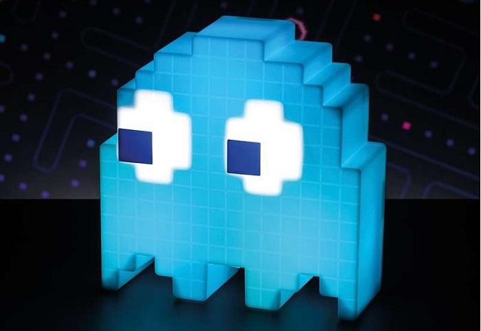 Lampka Pacman duszek zmieniająca kolory