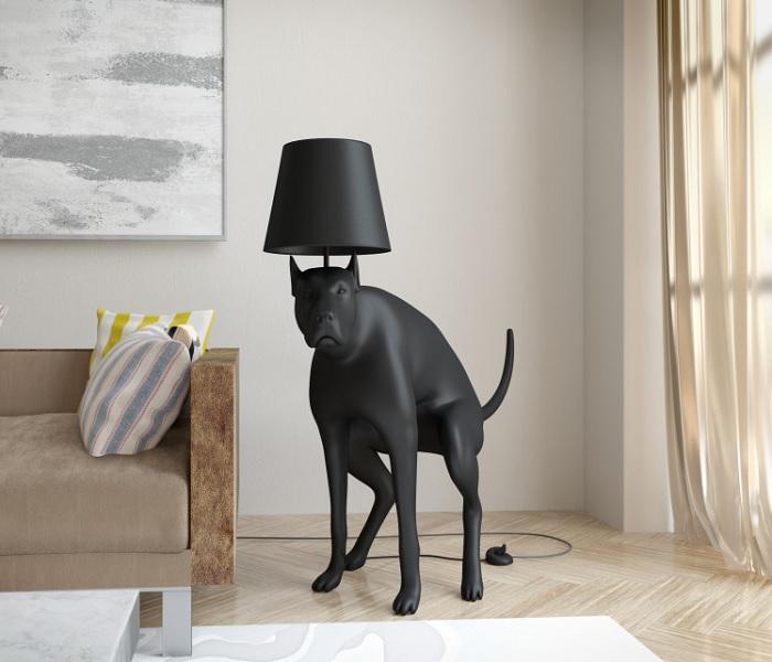 lampa pies za potrzeba