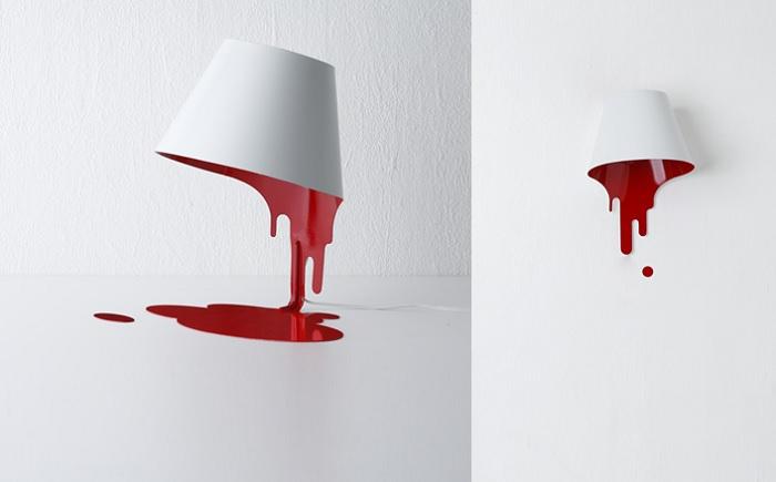 lampka splywajaca farba