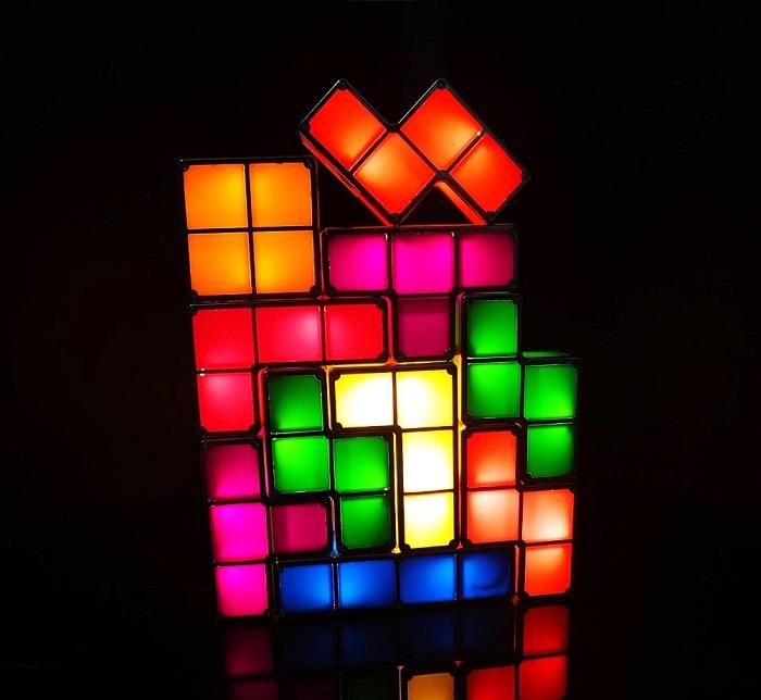 lampka tetriss
