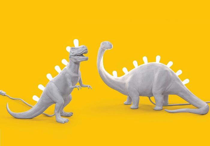 Lampka w kształcie dinozaura Jurassic by Seletti