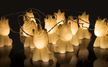 lampki jednorozce