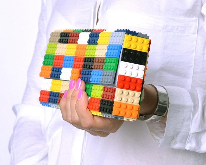 Torebka z klocków Lego