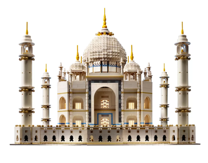 Tadż Mahal z klocków Lego