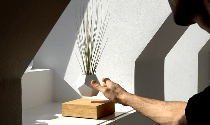 BLOG: Lewitująca doniczka LYFE, czyli super pomysł na wyeksponowanie roślin
