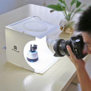 lightbox do bezcieniowej fotografii