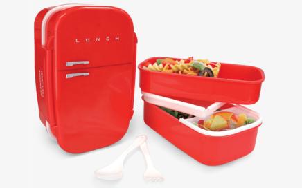 lunchbox lodówka mustard