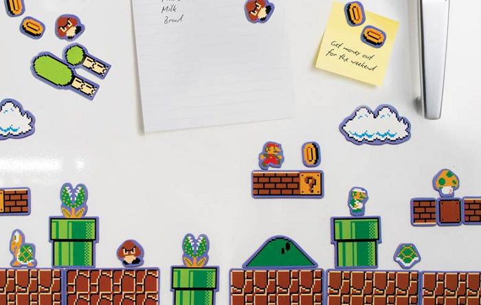 Magnesy gra Super Mario