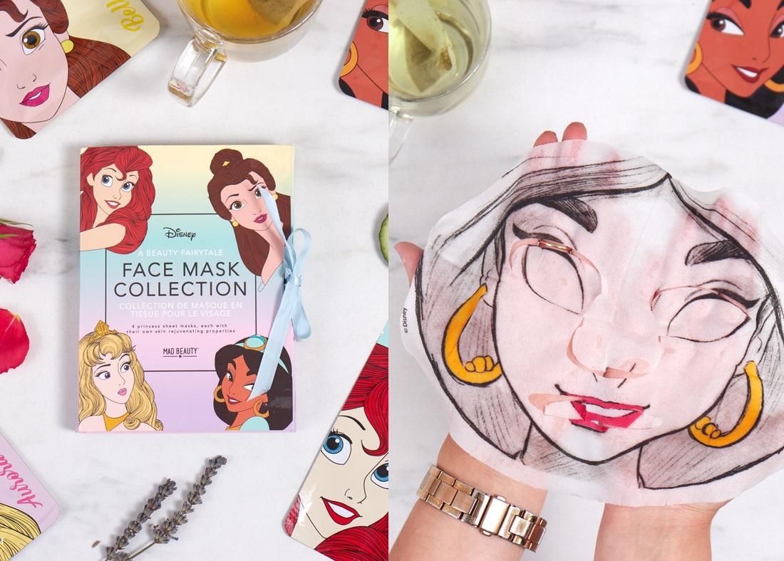 Maseczki Księżniczki Disney'a - bajkowy relaks twarzy
