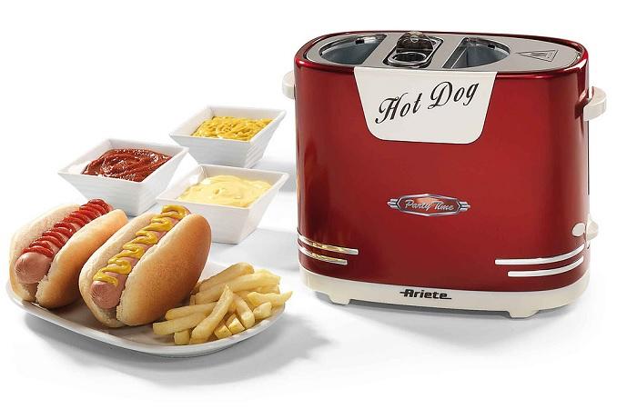 Retro maszyna do hot dogów firmy Ariete