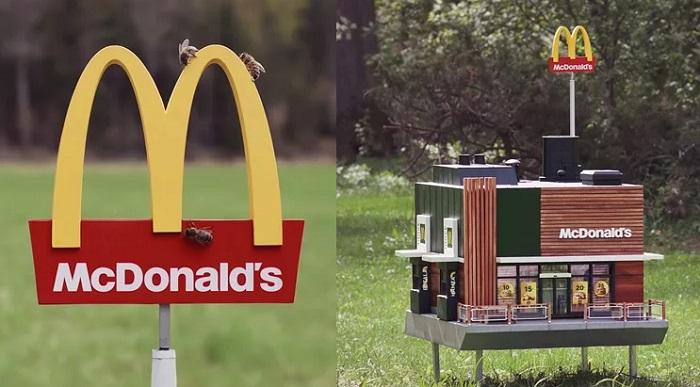 Ul wyglądający jak jedna z restauracji McDonald's
