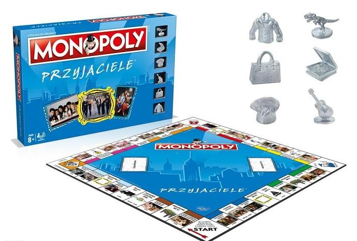 """Monopoly z serialu """"Przyjaciele"""""""