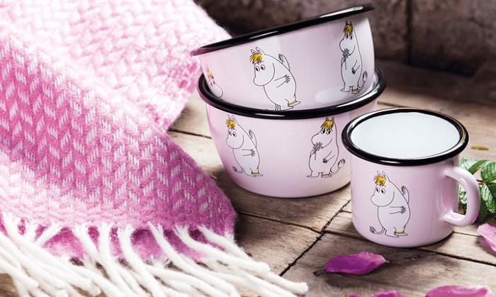 Retro naczynia z Muminkami by Muurla