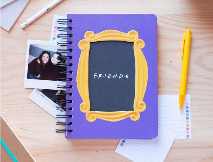 notes przyjaciele drzwi z ramka