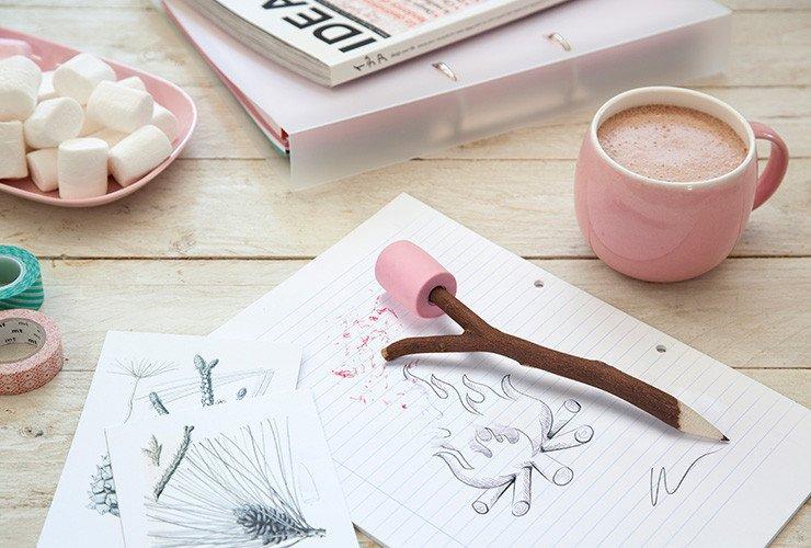 Ołówek pieczona pianka Marshmallow OTOTO