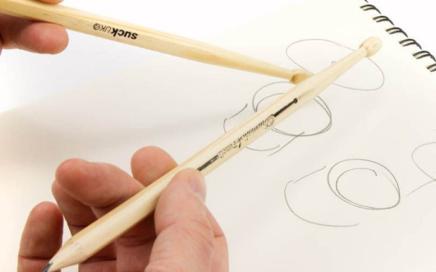 ołówki perkusisty
